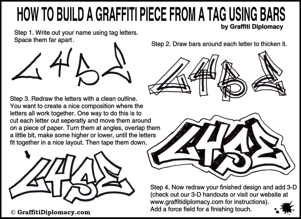 How to Draw Graffiti Letters for Beginners | Graffiti Know How