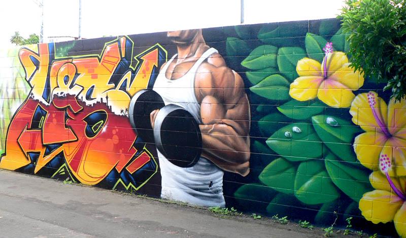 graffiti workout
