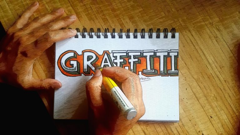 How to do 3D Graffiti Letters