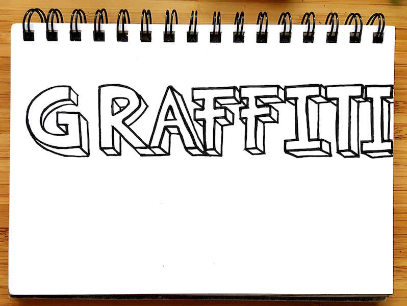 How To Do 3d Graffiti Letters For Beginners Graffiti Know How
