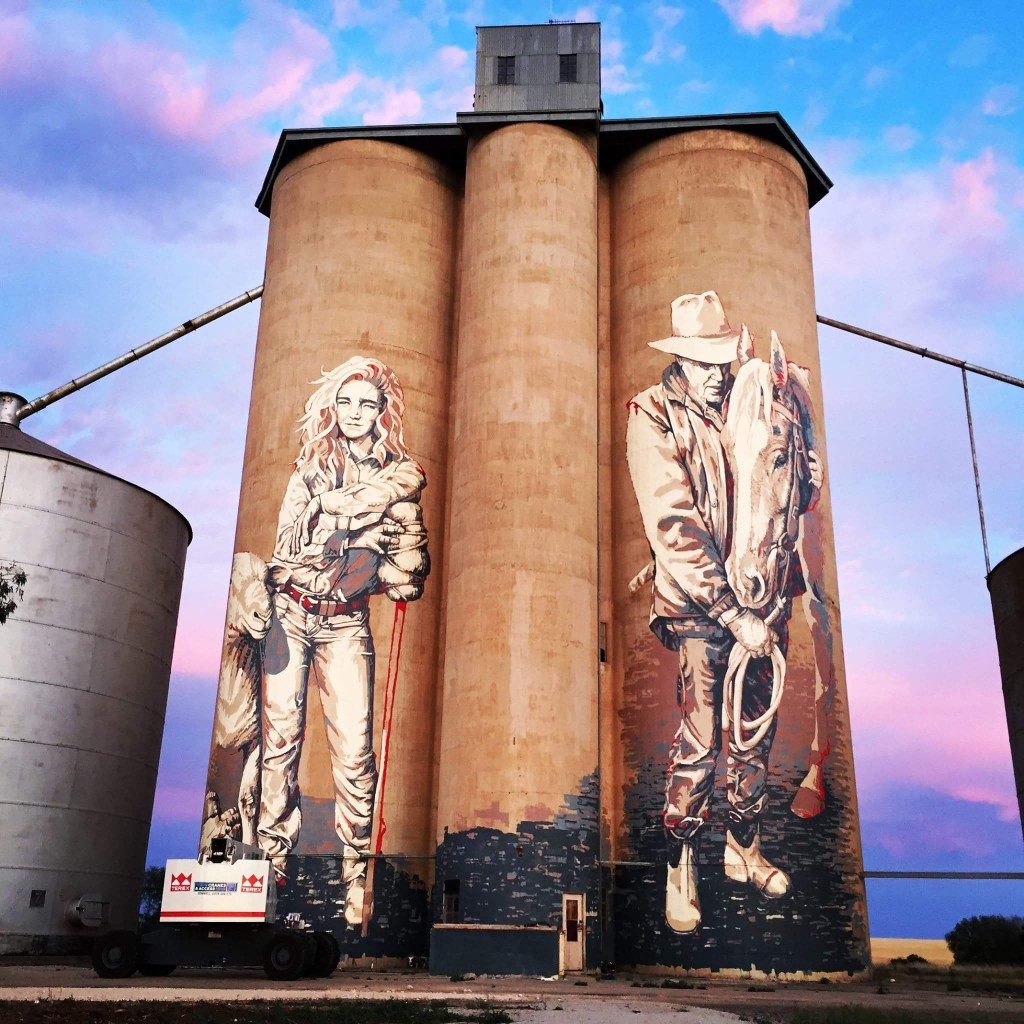 Top 10 Australian Street Artists | Kaff-eine Silos