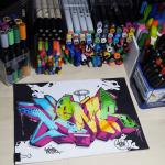 Graffiti Paint Markers