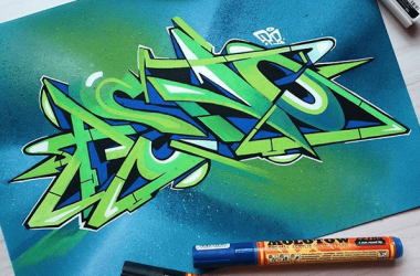 Best Markers for Coloring Graffiti